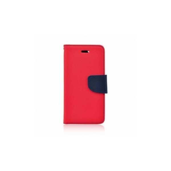 Étui portefeuille Fancy Book sur le  Nokia 5  Rouge