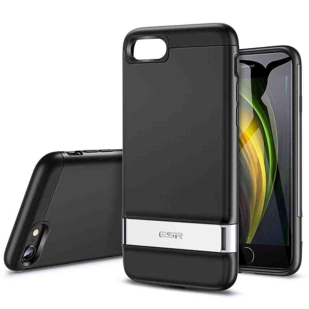 TPU cover ESR ESR Air Shield Boos for Apple iPhone 8 Black