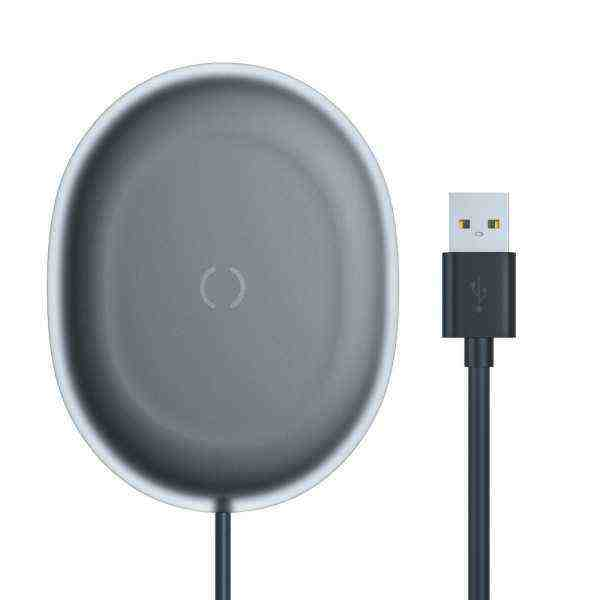 BASEUS Smart 3in1 Wireless Charger SIMPLE 2A (10W Max) Black